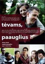 """Video seminaras """"Kursas tėvams, auginantiems paauglius"""" (DVD)"""