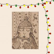 Atvirukas_Kalėdų šiluma Nr.1