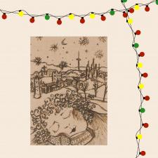 Atvirukas_Kalėdų šiluma Nr.2