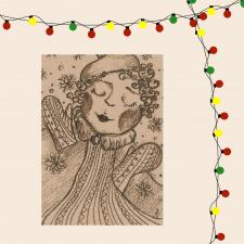 Atvirukas_Kalėdų šiluma Nr.4