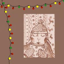 Atvirukas_Kalėdų šiluma Nr.9