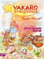 Vakaro žvaigždelė. Žurnalas vaikams 2015 pavasaris Nr. 26 + CD