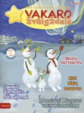 Vakaro žvaigždelė. Žurnalas vaikams 2017 žiema Nr. 37 + CD