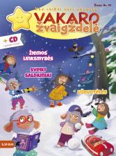 Vakaro žvaigždelė. Žurnalas vaikams 2020 žiema Nr. 49 + CD
