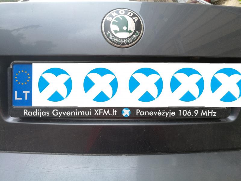 Automobilių numerių rėmeliai PANEVĖŽYS