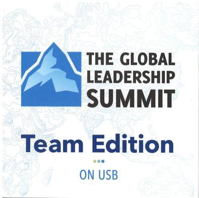 2018 m. Pasaulinės lyderystės konferencijos vaizdo įrašų USB jungtis