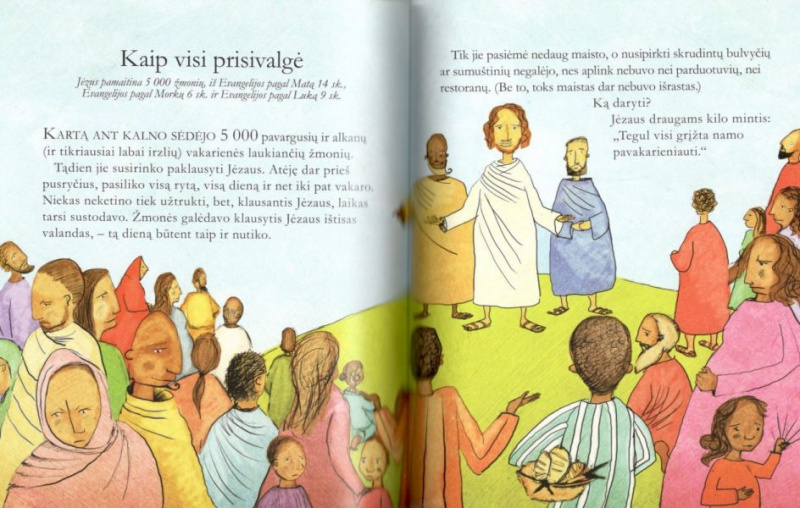 Biblijos pasakojimai apie Jėzų