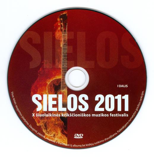 SIELOS 2011. Šiuolaikinės krikščioniškos muzikos festivalis (DVD)