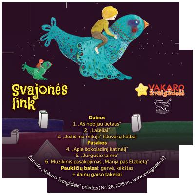 Vakaro žvaigždelė. Žurnalas vaikams 2015 ruduo Nr. 28 + CD