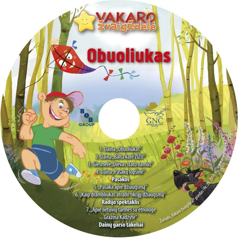 Vakaro žvaigždelė. Žurnalas vaikams 2018 vasara Nr. 39 + CD